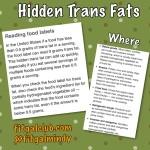 """""""0 Trans Fats"""" May Actually Be Hidden Trans Fats!"""
