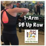 Fit Gal's Weekly Favorite Exercise: 1-Arm DB Up Rows!