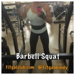 Fit Gal's Weekly Favorite Exercise: Barbell Back Squat