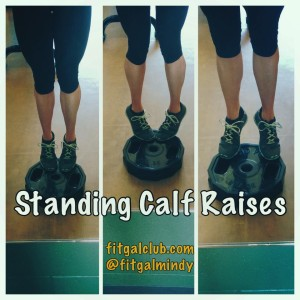 Weekly fave calf raises