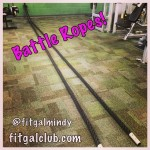 Fit Gal's Weekly Favorite Exercise: Battle Ropes