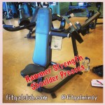 Fit Gal's Weekly Favorite Exercise: Hammer Strength Shoulder Presses