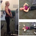 Fit Gal's Weekly Favorite Exercise: Standing/Lying Cable Upright Rows
