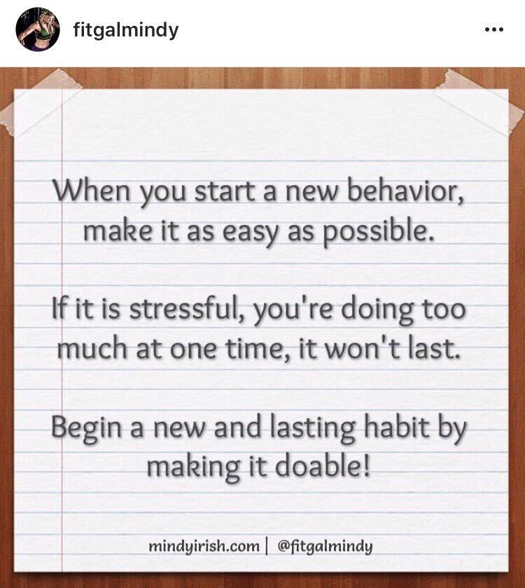 New Behavior
